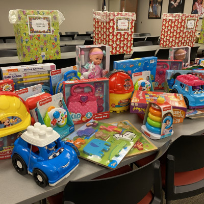 TECO Elves Deliver on Toys for Children and Teens