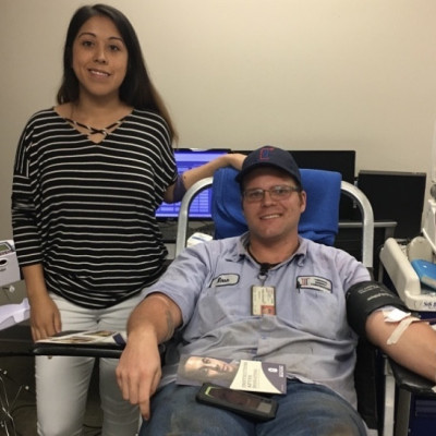 Donors Make TECO's Annual Blood Drive a Success