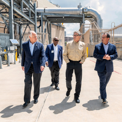 U.S. Secretary of Energy Rick Perry Tours TECO