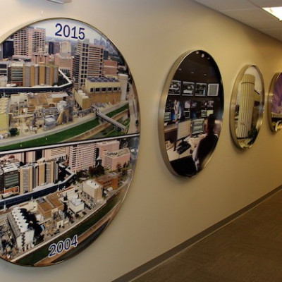 Photo Display Puts TECO in Focus