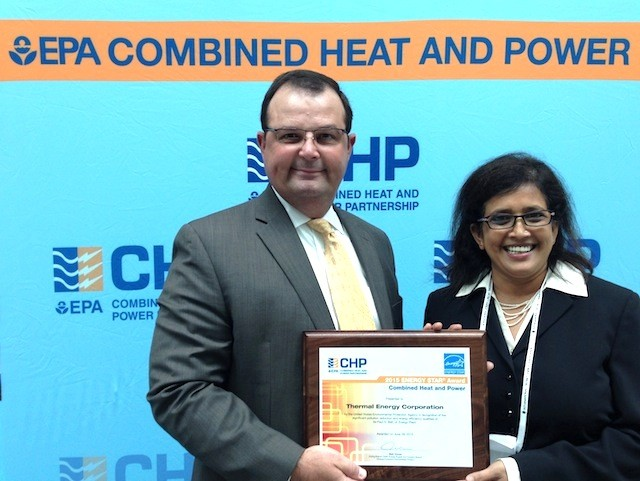 Houston-Based TECO Wins U S  EPA's ENERGY STAR CHP Award